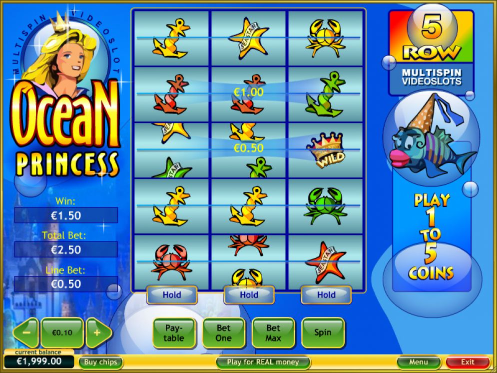 ocean princess slot