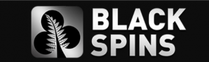 black spins logo