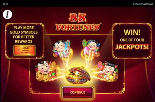 88 fortunes slot graphics