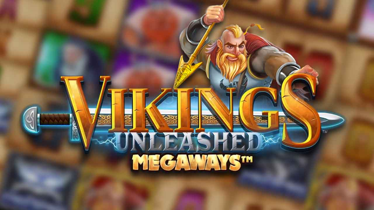 Vikings-Unleashed-Megaways-slot-logo
