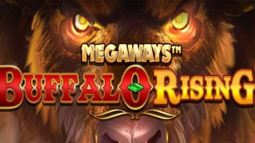 buffalo rising megaways review logo
