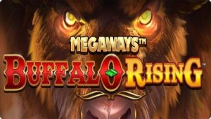 megaways buffalo rising slot logo