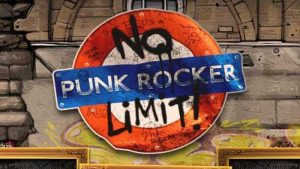 punk rocker bonus buy slot logo