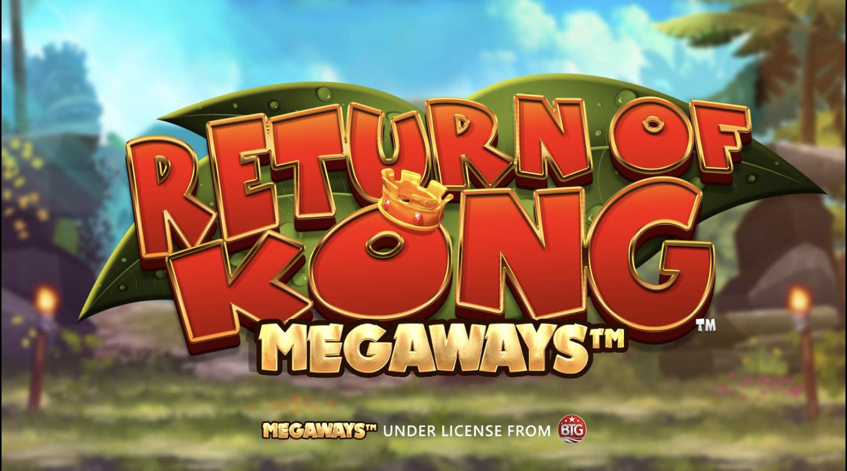 return of kong megaways logo