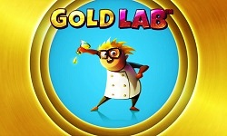 gold lab slot logo
